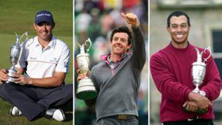 British Open: Winners since 2000