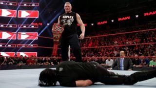 WWE, ロウ, #1341, プレビュー, レスナーがロリンズをF5葬