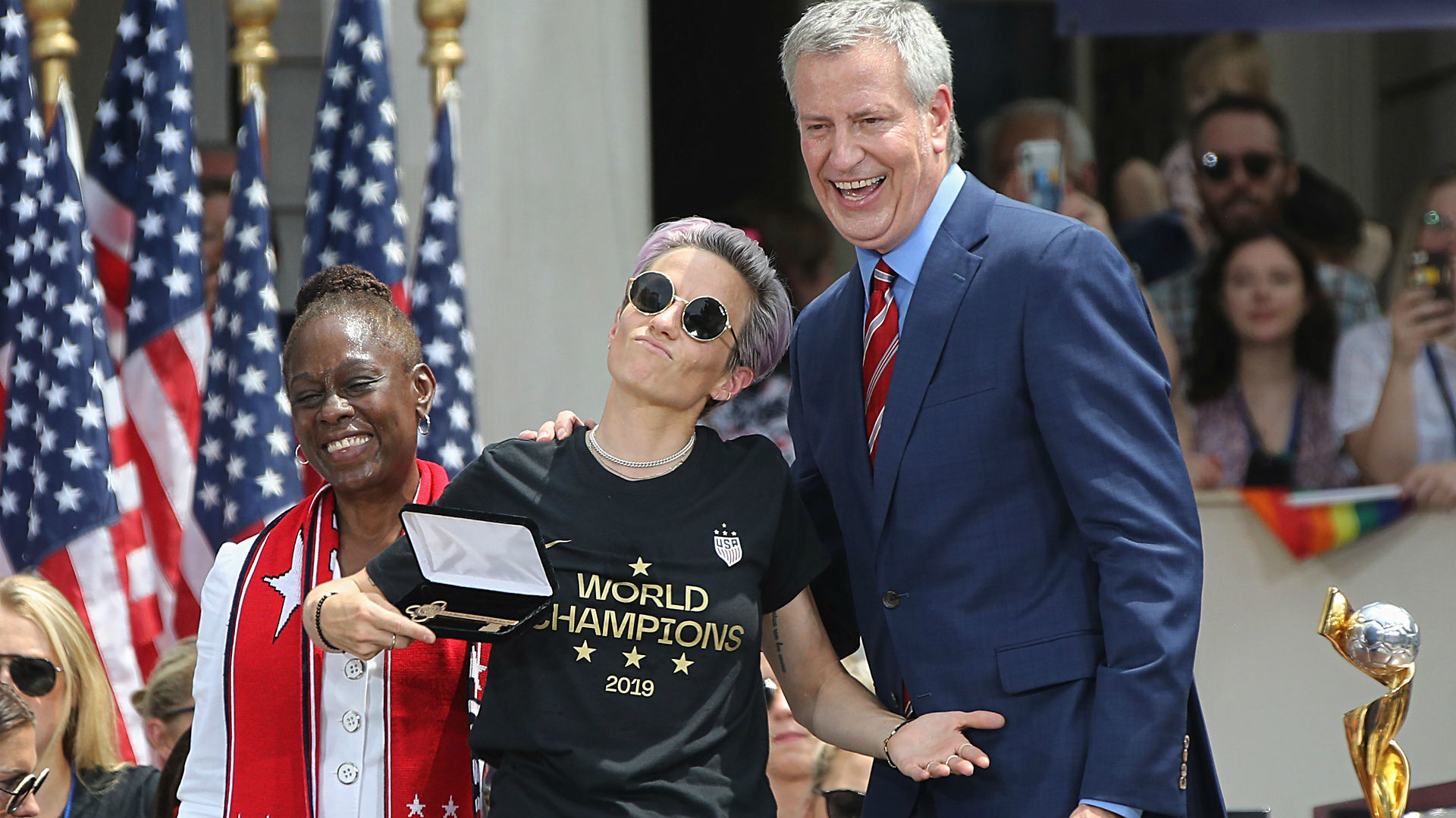 Megan Rapinoe proud of activism but unsure of future; 'too wild for politics' right now