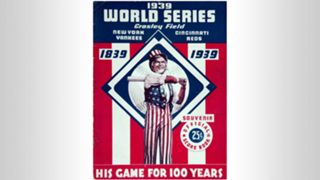 1939 World Series program