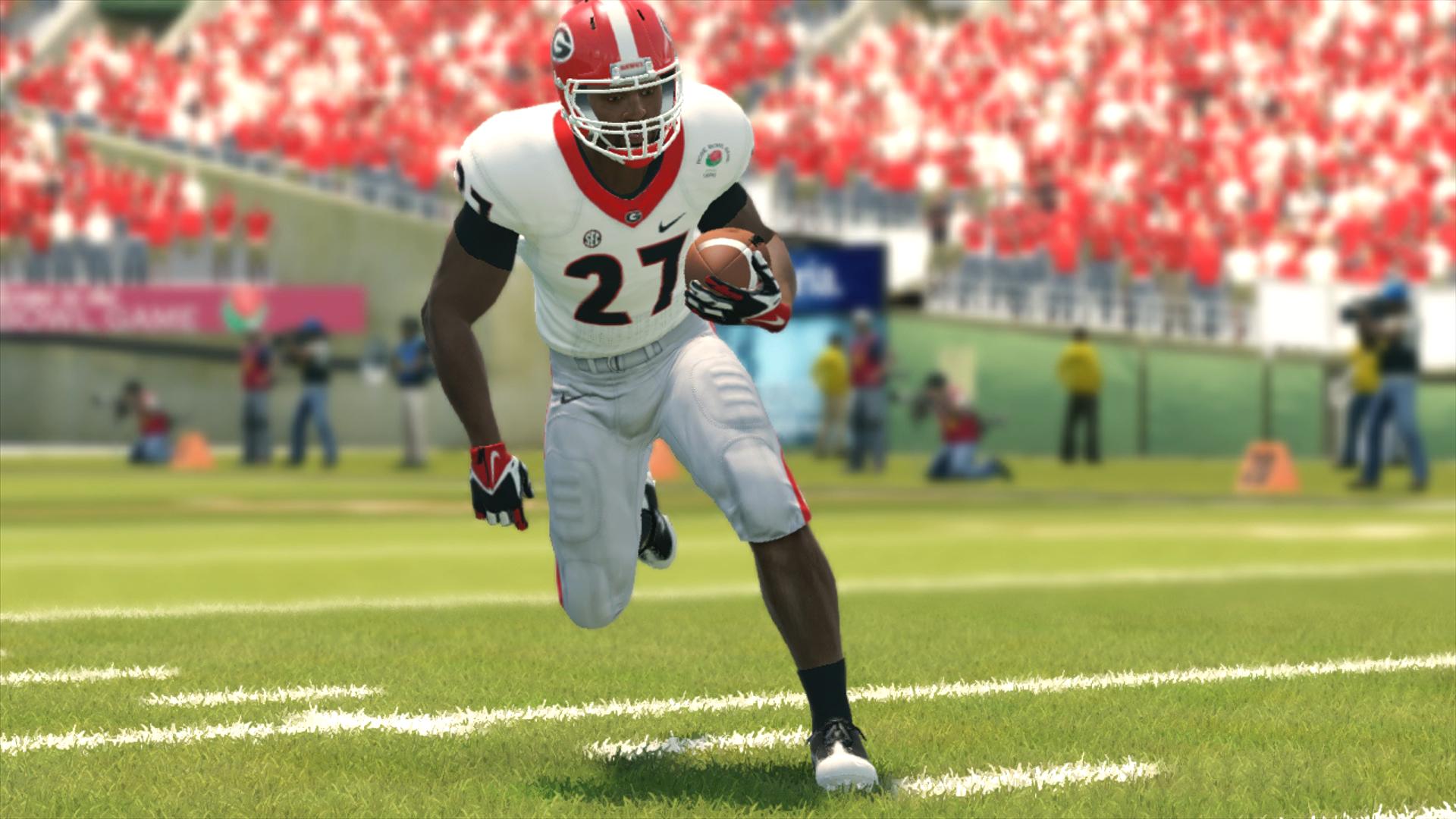 NCAA Football 14 Nick Chubb