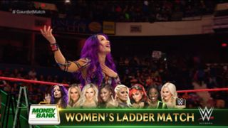 WWE ロウ 1305 マネー・イン・ザ・バンク 予選 サーシャ・バンクス
