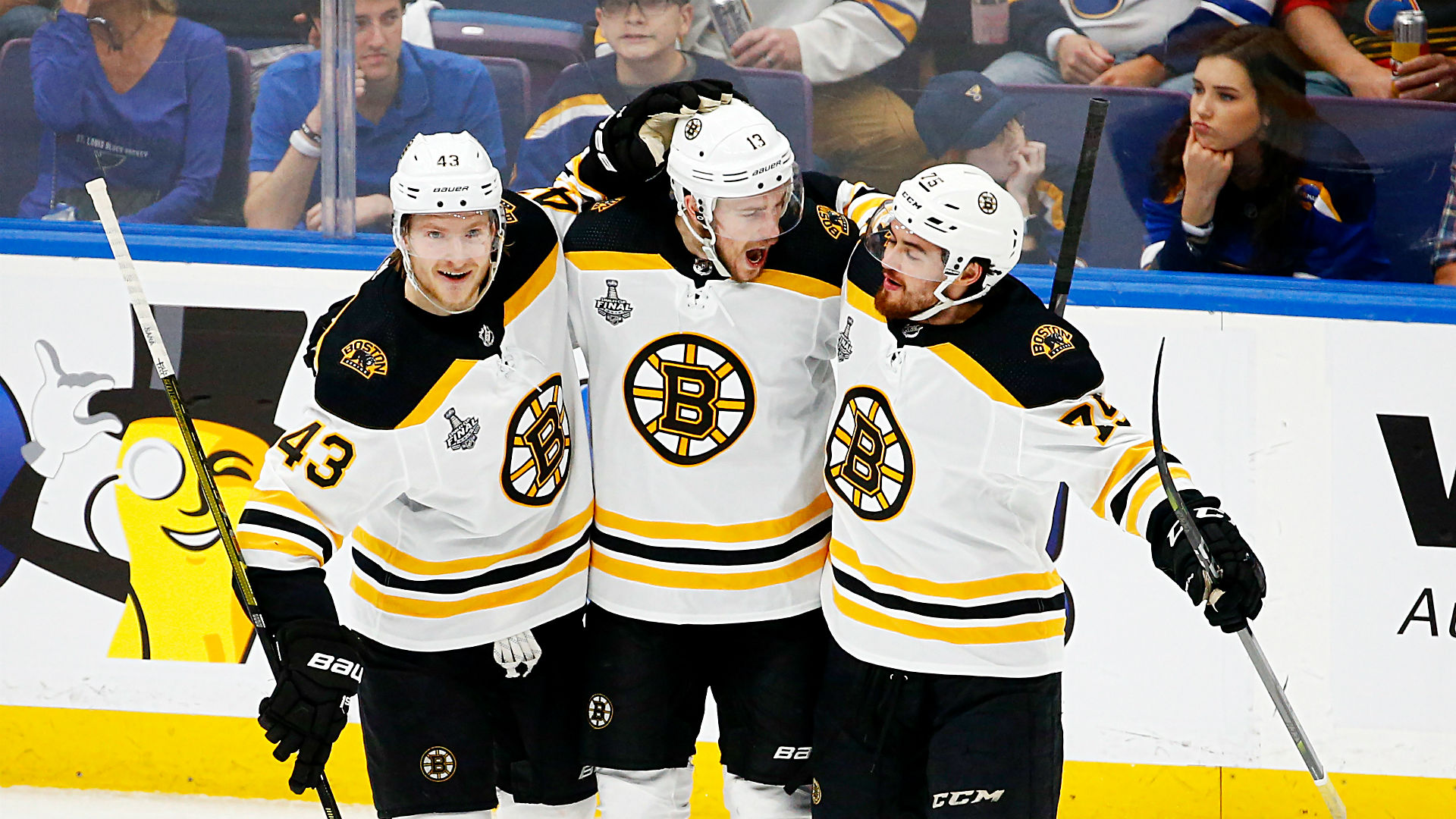 Bruins vs. Blues results: Boston rides offensive explosion ...Bruins Score