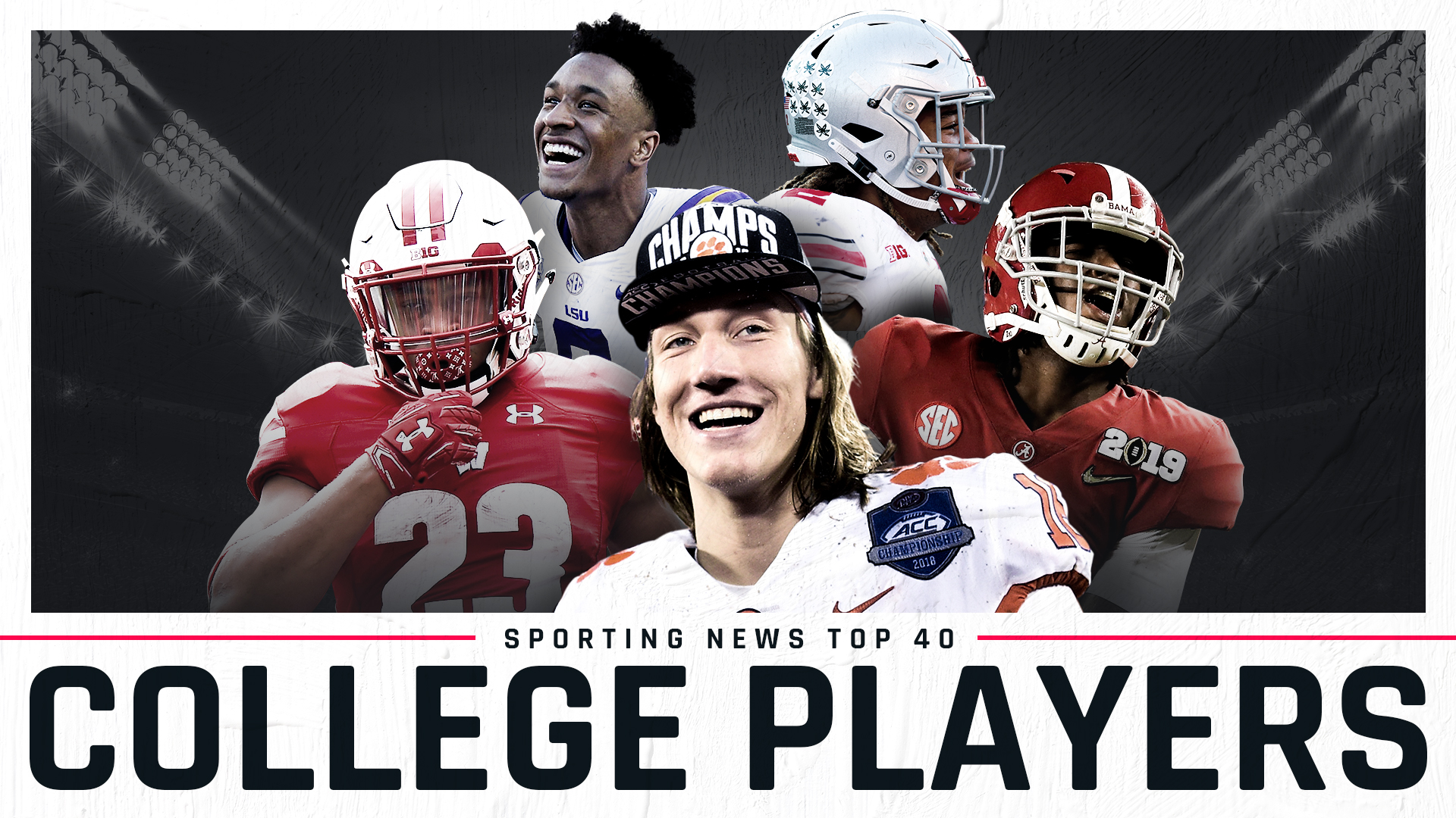 Sporting News' top 40 college football players of 2019 ...