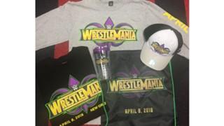 WWE オークション レッスルマニア34