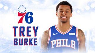 Philadelphia 76ers  Trey Burke