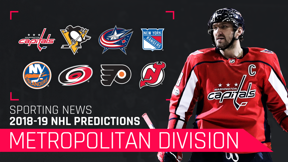 Metropolitan Division 2018-19 predictions: Capitals, Penguins are running the show