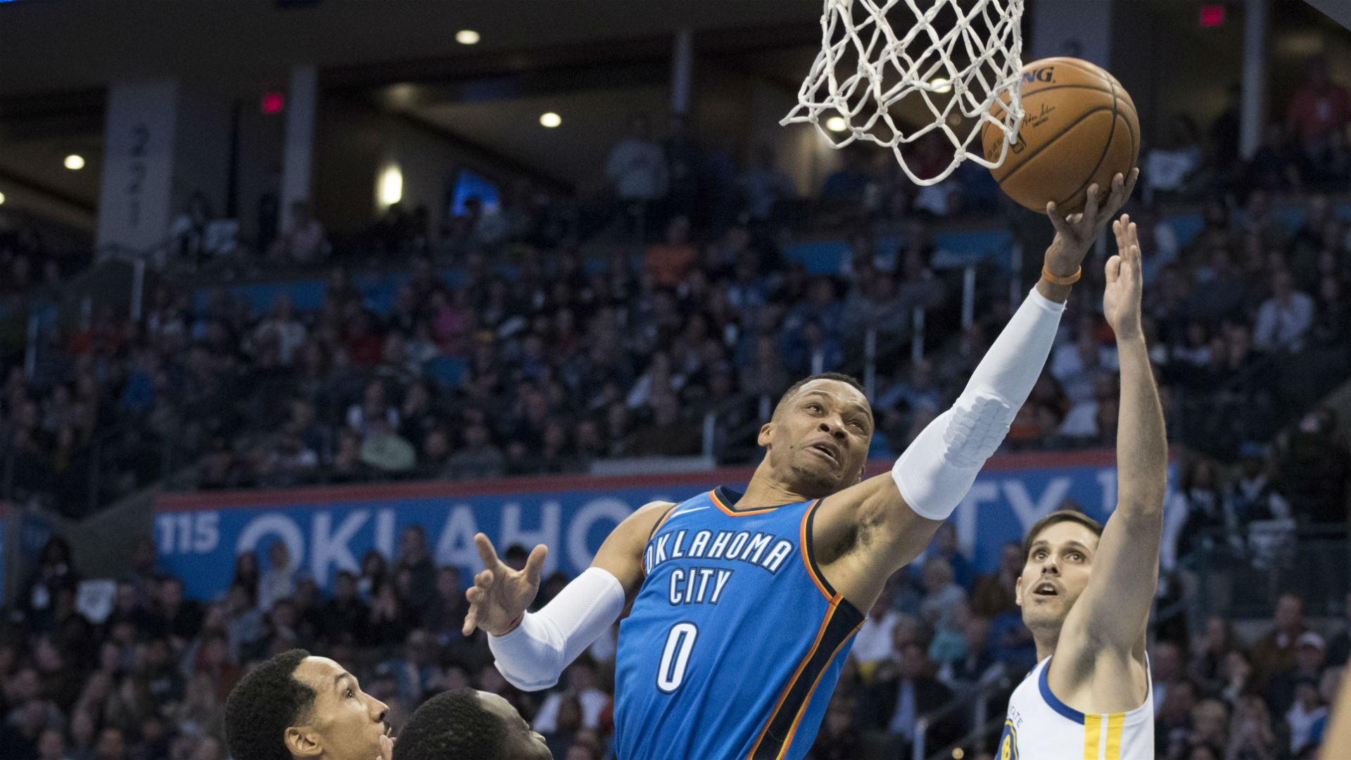 Warriors vs. Thunder: Score, results, highlights from OKC's blowout win
