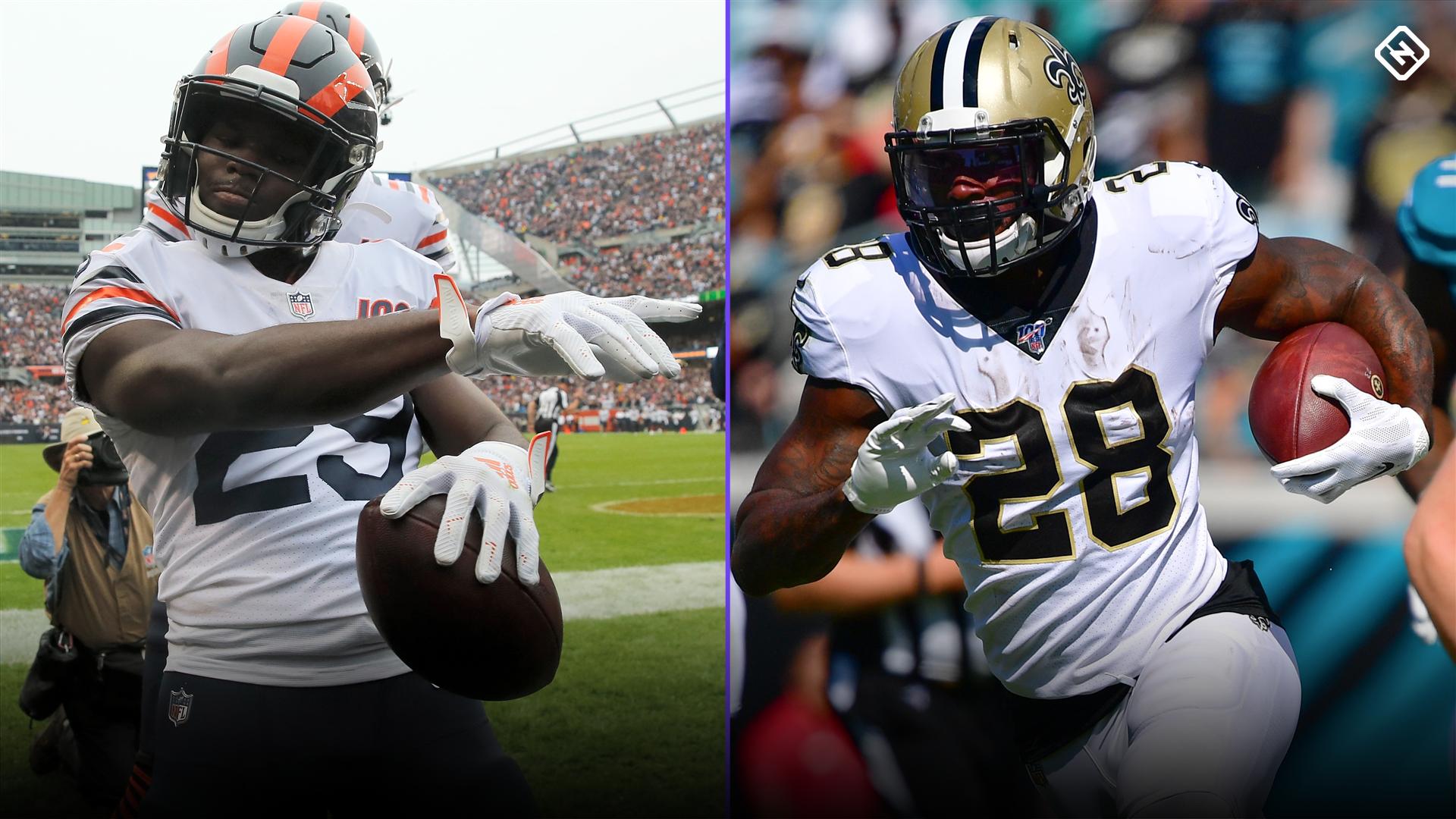 DraftKings Week 7 Sunday NFL Showdown: Picks, advice for Saints vs. Bears DFS