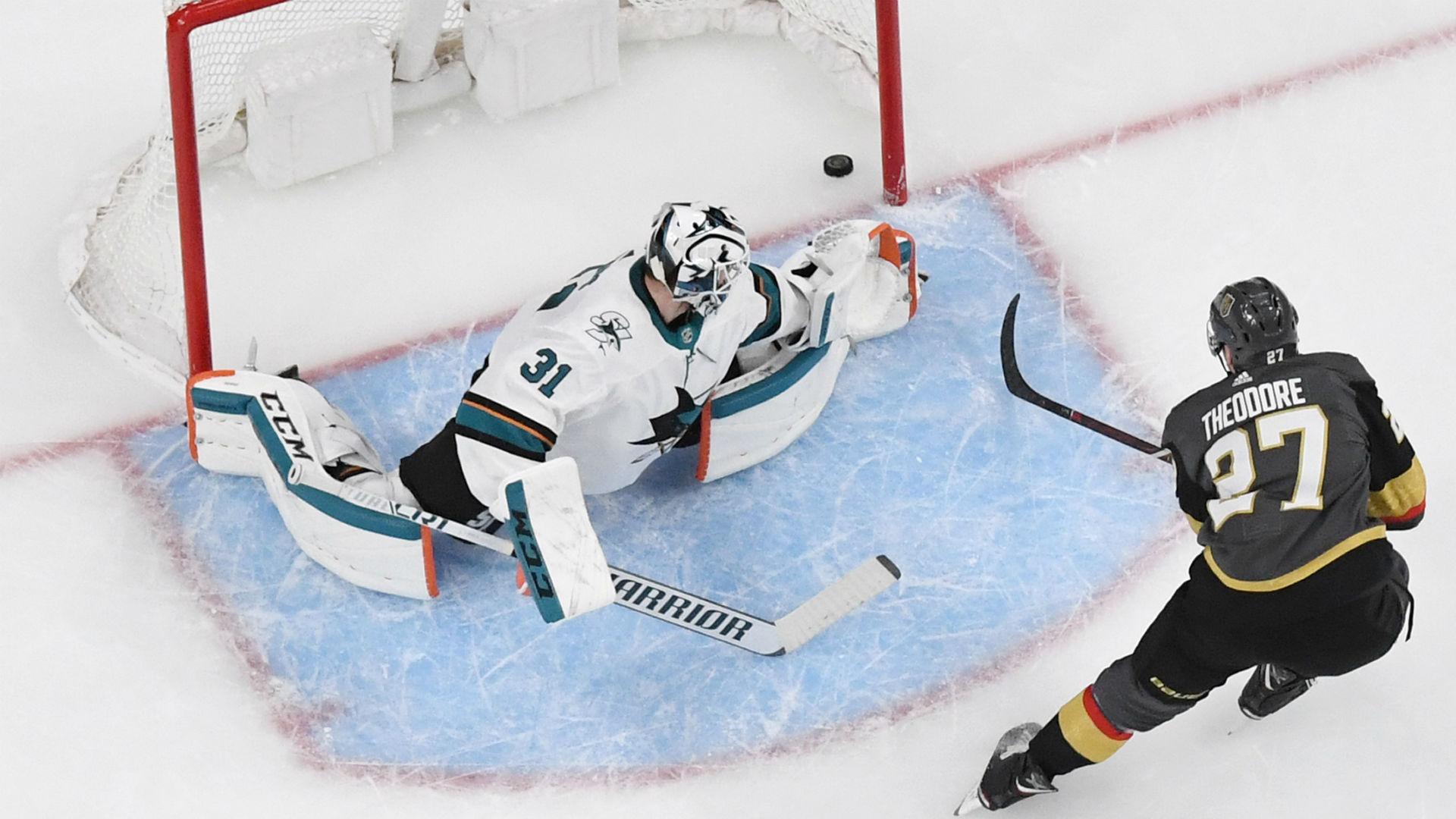 NHL playoffs 2019: Sharks' Martin Jones, pulled in Game 4, named starter for Game 5