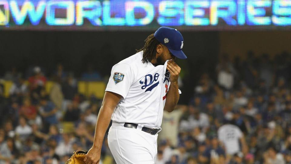 World Series 2018: With World Series on the line, questions surround Kenley Jansen, Dodgers' bullpen