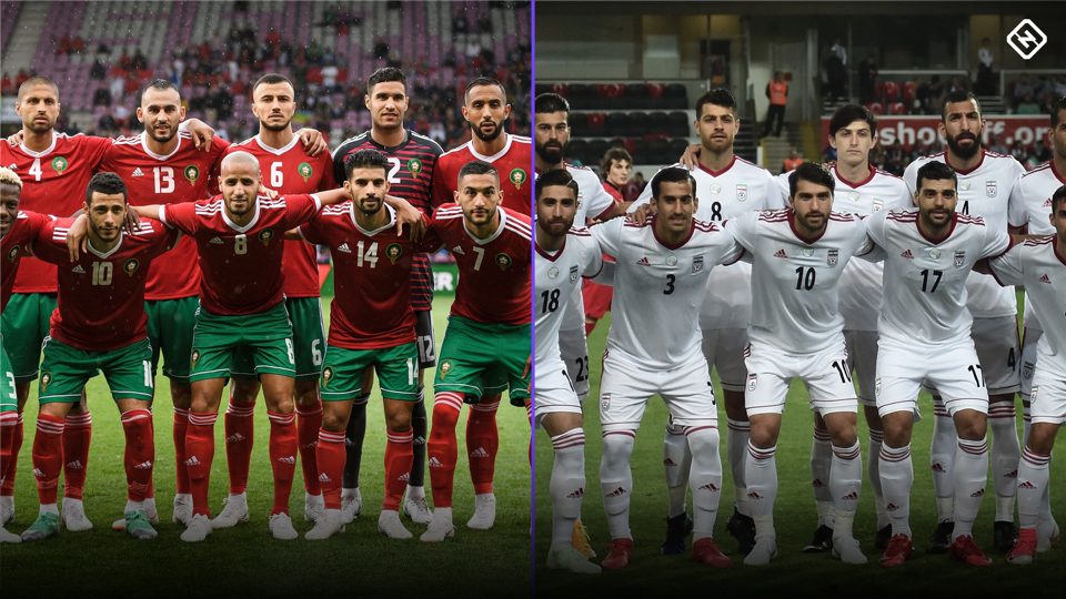 Image result for Morocco vs Iran