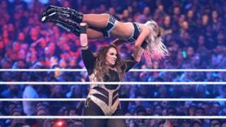 WWE レッスルマニア34 アレクサ・ブリス ナイア・ジャックス ロウ 女子王座