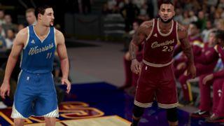 NBA 2K16 Christmas Warriors Cavaliers