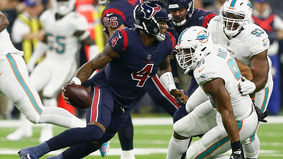 Dolphins vs. Texans score, highlights from streaking Houston's Thursday night victory