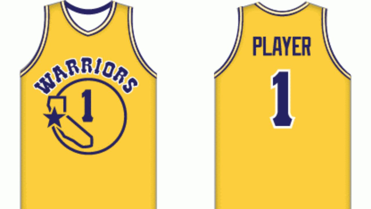 reputable site b47c3 d1569 Golden State Warriors uniform history: From Philadelphia to ...