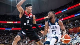 Rui hachimura Kemba Walker USA vs Japan