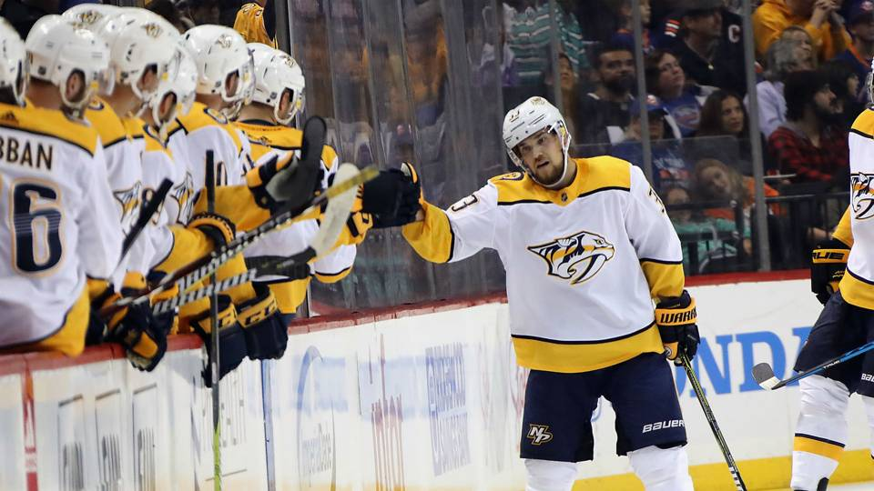 WATCH: Viktor Arvidsson scores highlight-reel goal against Islanders