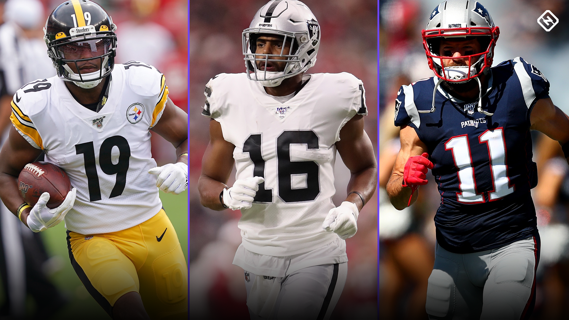 Fantasy Injury Updates: JuJu Smith-Schuster, Tyrell Williams, Julian Edelman, more affecting Week 5 start 'em, sit 'em calls