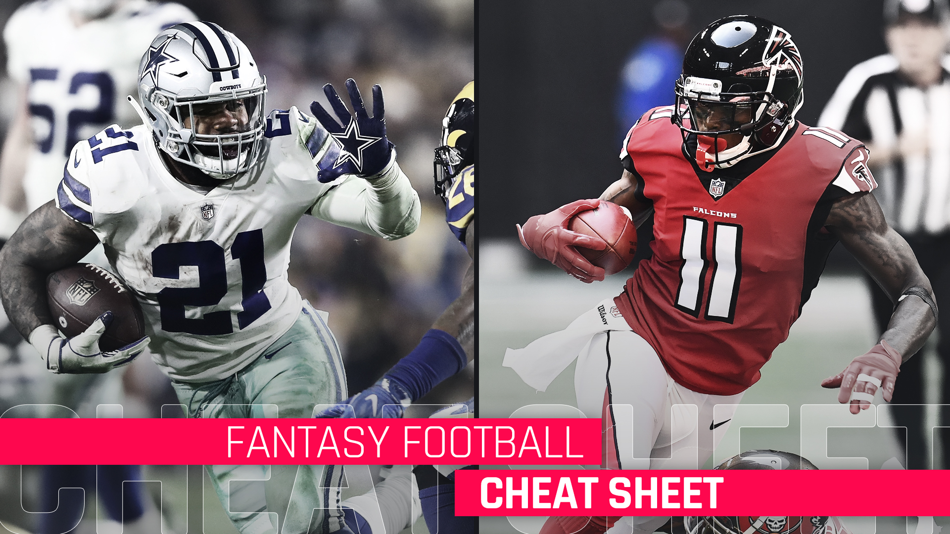 picture regarding Fantasy Football Depth Chart Printable identified as 2019 Myth Soccer cheat sheet, ratings, sleepers, staff
