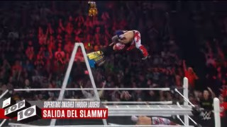 WWE ラダー 破壊 トップ10