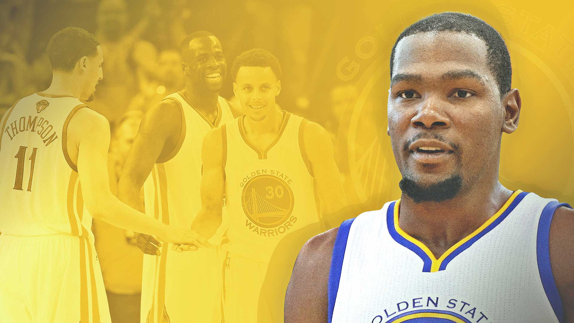 buy popular af0ba b1929 Kevin Durant on the Warriors  The rest of the NBA s nightmare could happen    Sporting News