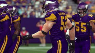 Color Rush Minnesota Vikings Madden NFL 17