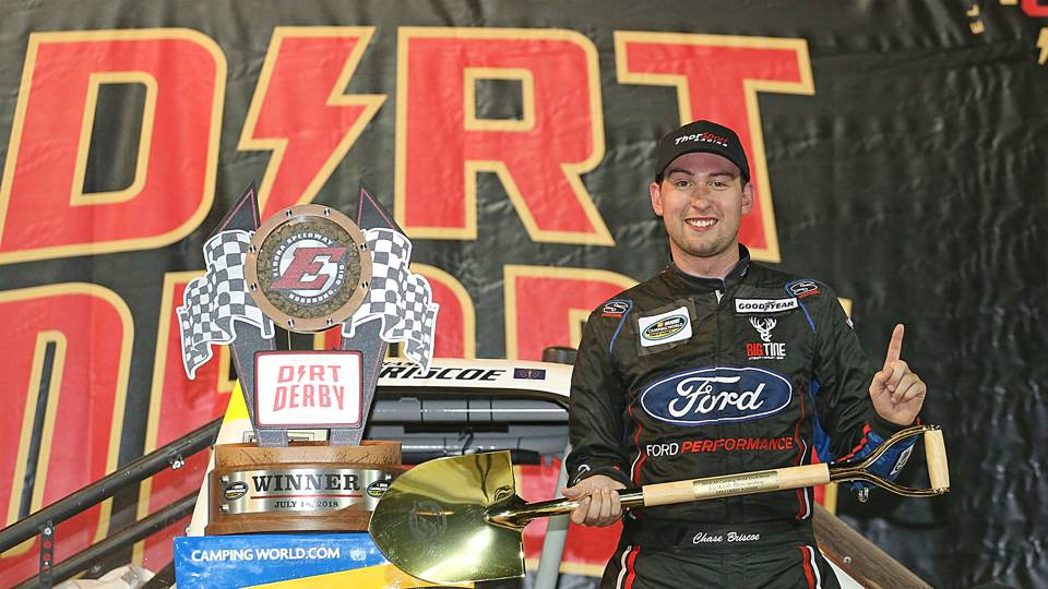 NASCAR Truck Series results at Eldora: Chase Briscoe edges Grant Enfinger on last lap
