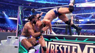 WWE レッスルマニア34 ランディ・オートン ルセフ ボビー・ルード ジンダー・マハル US王座戦