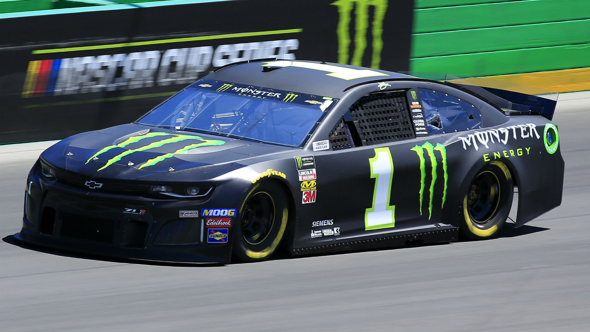 NASCAR results at Kentucky: Kurt Busch beats his brother by a nose in Quaker State 400