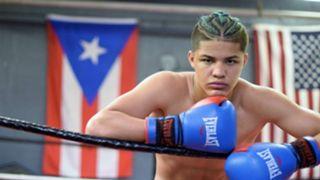 16歳の天才ボクサー、サンダー・ザヤス
