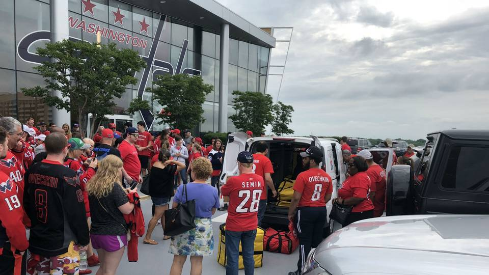 Stanley Cup Final 2018: Mamma Lucia's fuels Alex Ovechkin, Capitals fans before Game 3
