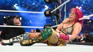 WWE アスカ レッスルマニア34 シャーロット・フレアー スマックダウン女子王座