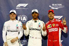 ハミルトン、アブダビGPポールポジション獲得 2018