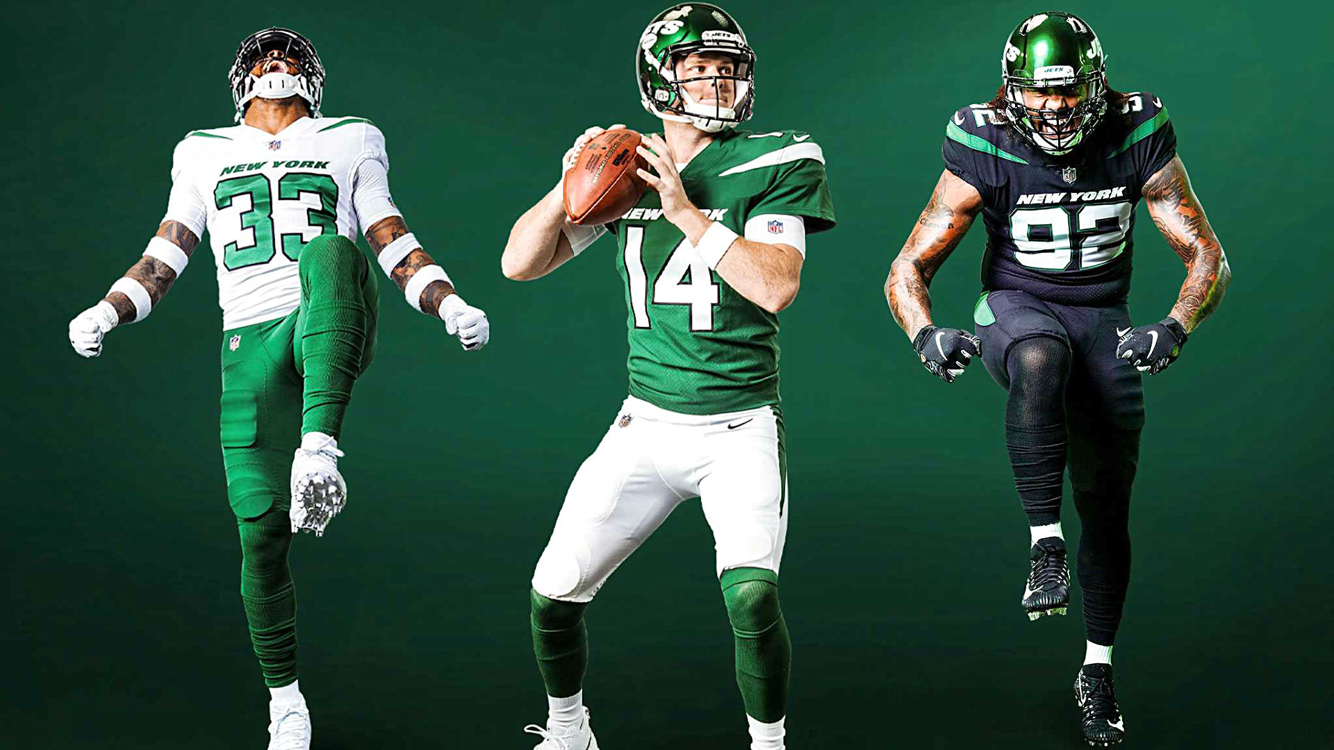 6b69ce09947 New York Jets unveil new uniforms and Twitter is split