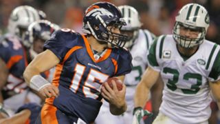 Tim Tebow - Broncos Jets - Getty - FTR