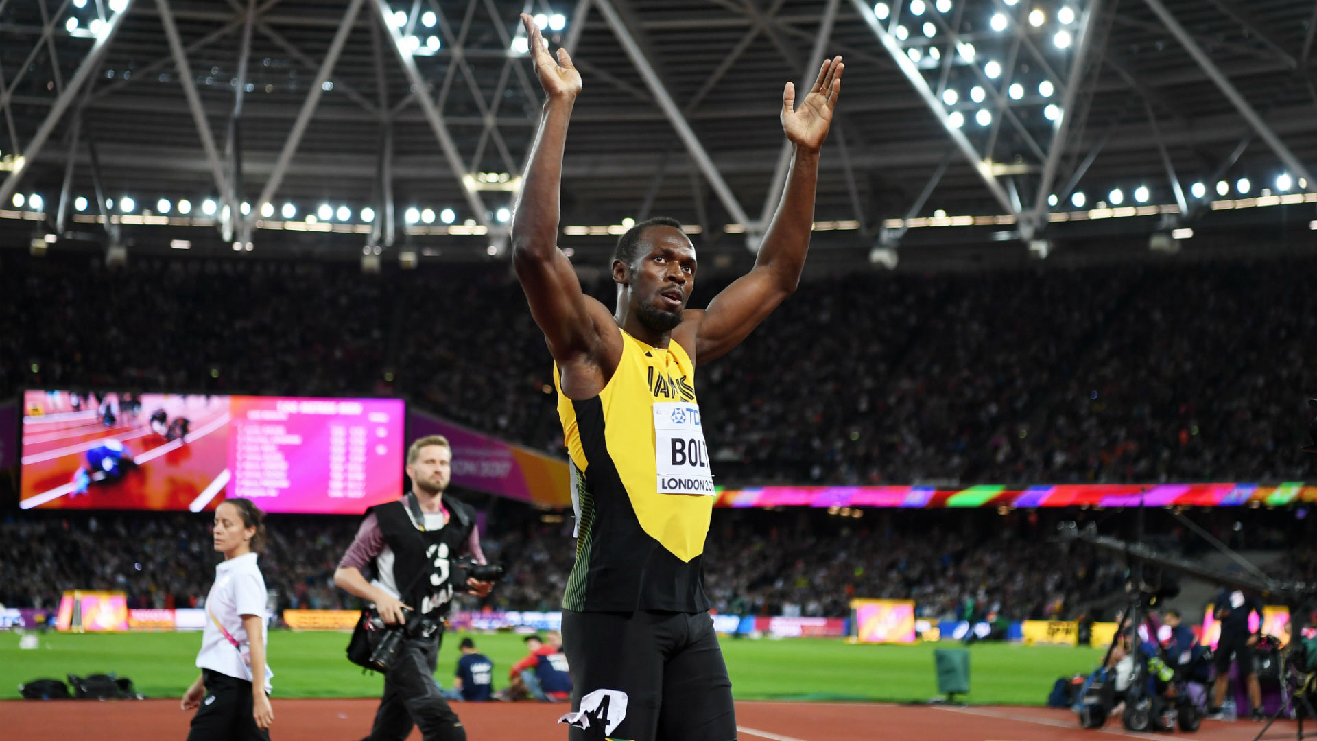 IAAF World Championships 2017: 8 stunning photos from Usain Bolt's final 100-meter race