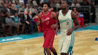 NBA 2K16 Christmas Hawks Hornets