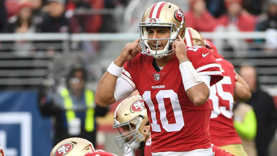 49ers QB Jimmy Garoppolo's top 10 plays of 2017