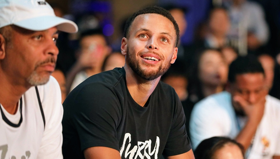 Stephen Curry in Japan