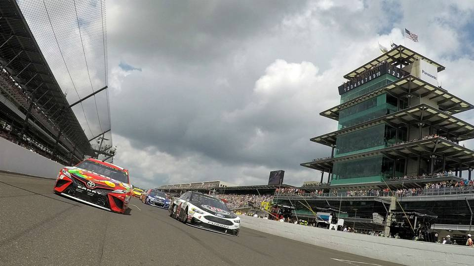 NASCAR at Indianapolis: Brickyard 400 postponed to Monday