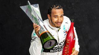 F1第1000回大会の中国GPを制したメルセデスのルイス・ハミルトン