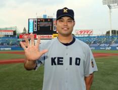 Masaki Iwami at NPB Draft