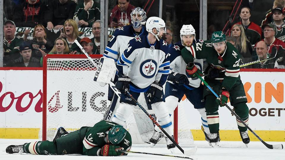 NHL playoffs 2018: Wild miffed over undetected Josh Morrissey cross-check that 'value us the recreation'