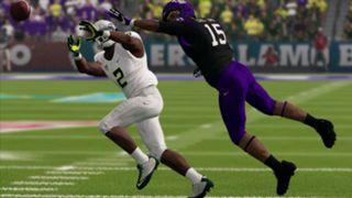 NCAA Football 14 Alamo Bowl TCU Oregon