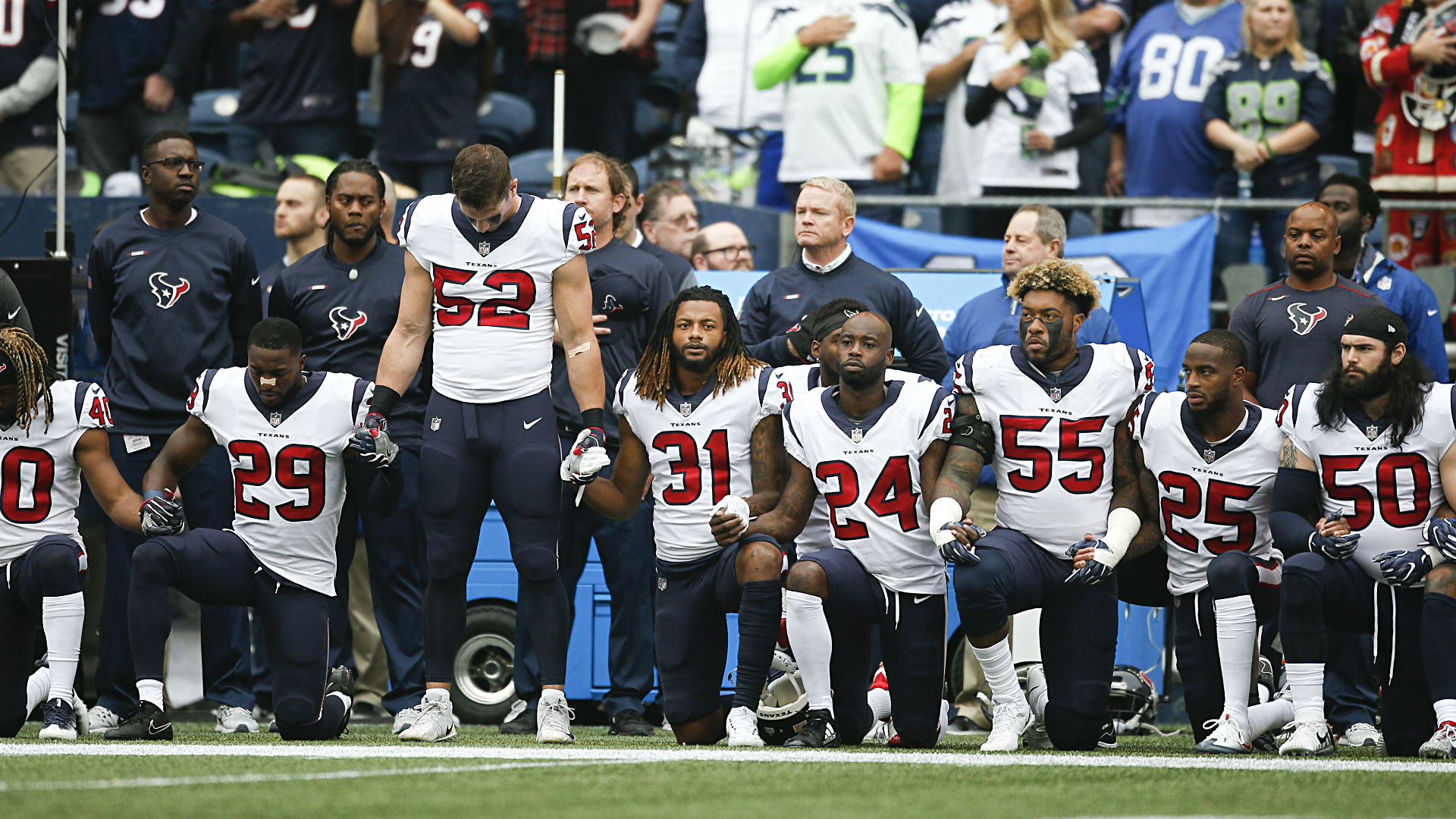 Bob McNair's insults, Texans' kneeldown change protest game for good