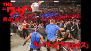 WWE, スーパースター, ワザ紹介, シェイン・マクマホン, リープ・オブ・フェイス