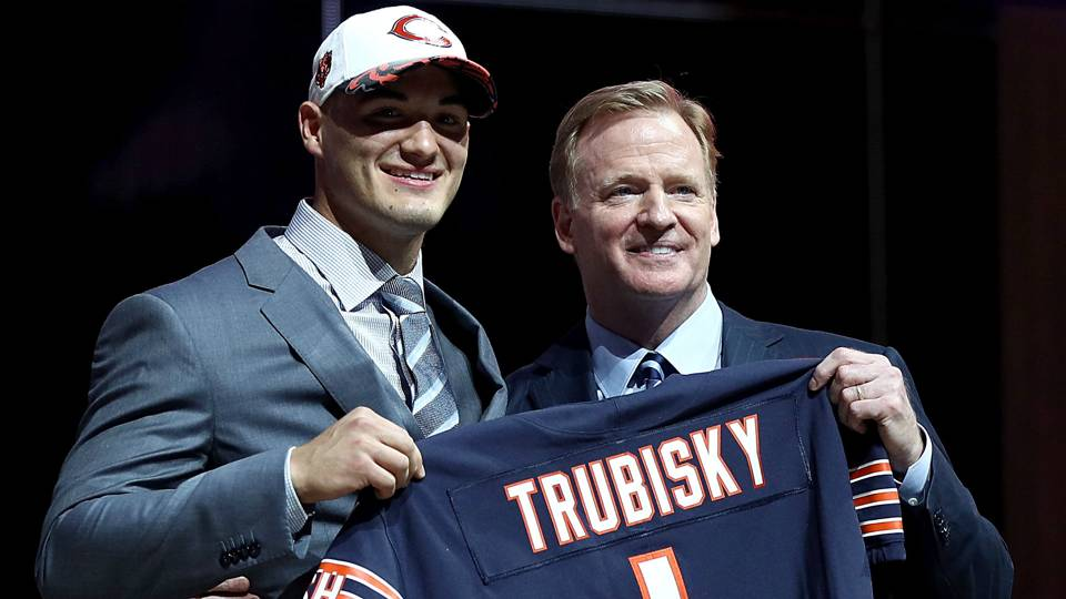 The Bears are no doubt getting a top-rated QB with Trubisky. The question is, did they need to sell the farm to get him?