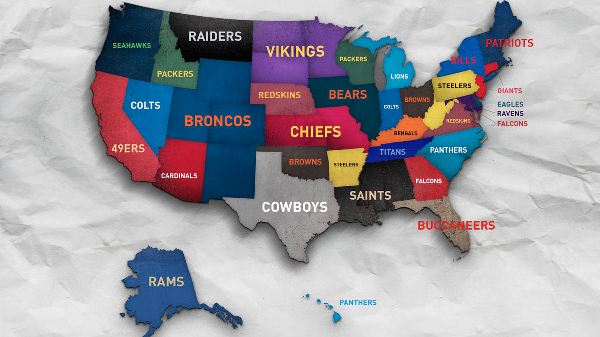 See which NFL teams have top selling jerseys by state ... on super bowl team map, basketball team map, pittsburgh steelers map, favorite baseball team map, major league baseball team map, fifa team map, nfc team map, nhl team map, new england patriots map, mlb team map, cincinnati reds map, qmjhl team map, nhl fan map, nba team map, ncaa team map, cfl team map, hockey team map, mls team map, washington redskins map, afl team map,