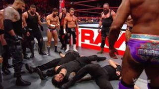 WWE ロウ #1319 ストローマン ベイラー シールド